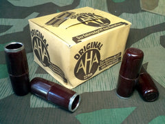 Original WWII German AHA Fahrrad Bicycle Bakelite Grips