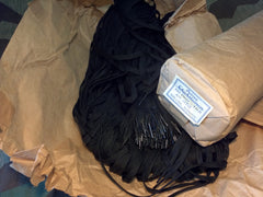 Original WWII German Black Shoe Laces 100cm