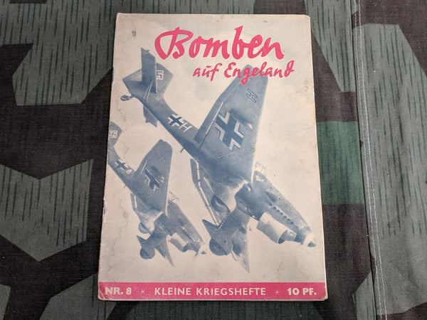 Original WWII German Bomben aüf Engeland War Novel