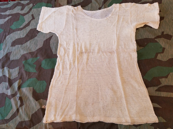 Original WWII German DAK Mesh Undershirts