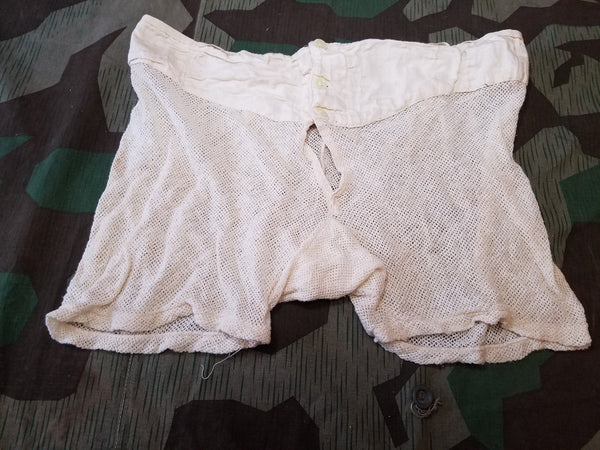 Original WWII German DAK Mesh Underwear