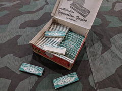 Original WWII German Efka Cigarette Rolling Papers  1930s / 1940s