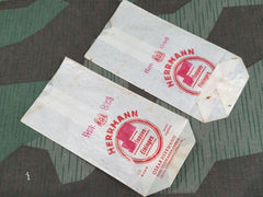 "Original WWII German ""Egg"" Noodle Soup Bags"