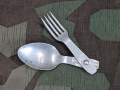"Original WWII German Fork Spoon ""Göffel"""