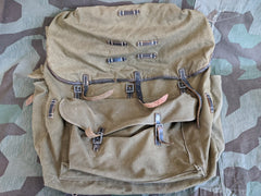 Original WWII German Gebirgsjäger Rucksack Backpack 1943