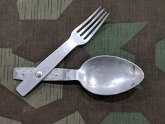 Original WWII German H.H.L. 38 Fork Spoon Göffel