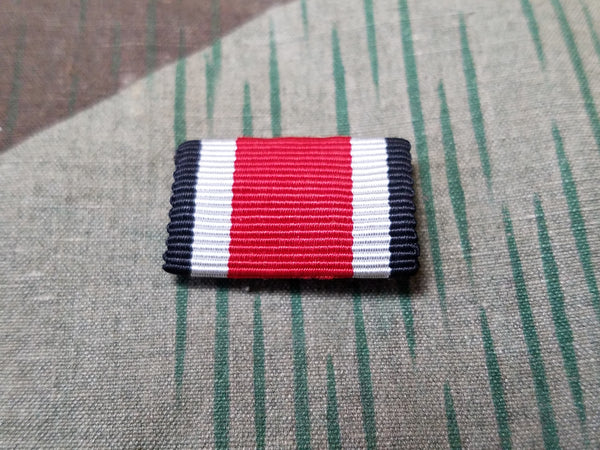 Original WWII German Iron Cross Ribbon Bar