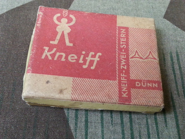 Original WWII German Kneiff Chewing Tobacco Box