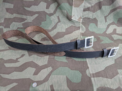 WWII German Paper Officers Belt Late War