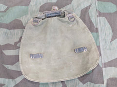 Original WWII German M31 Bread Bag Worn
