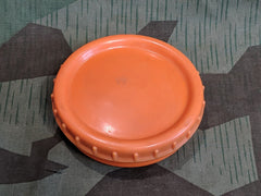 Original WWII German Orange Butter Dish 1/4 Turn