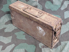 Original WWII German Patronenkasten Ammo Box Tan Paint