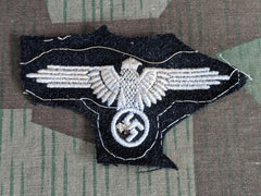 WWII German SS Sleeve Eagle Patch (AS-IS)