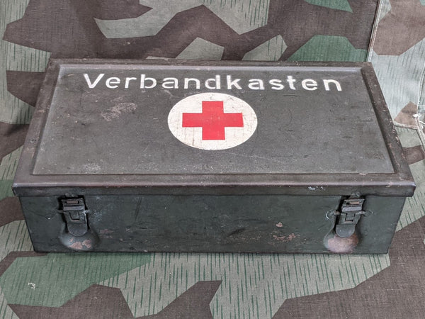 Original WWII German Verbandkasten in Good Condition EMPTY