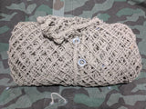 Original WWII German Camo Net w/ Repairs