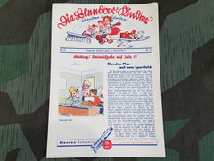 Vintage 1930s German Blendax Toothpaste Advertisement Leaflet