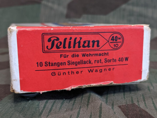 Pelikan Sealing Wax for Wehrmacht WWII