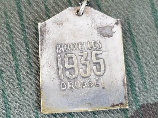 1935 Brussel Bruxelles World Expo Necklace