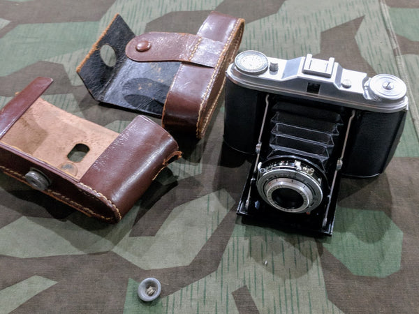 Post-WWII German Agfa Camera in Case