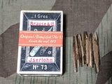 Pre-WWII 1930s German Full Box of Brause-Feder Pen Nibs