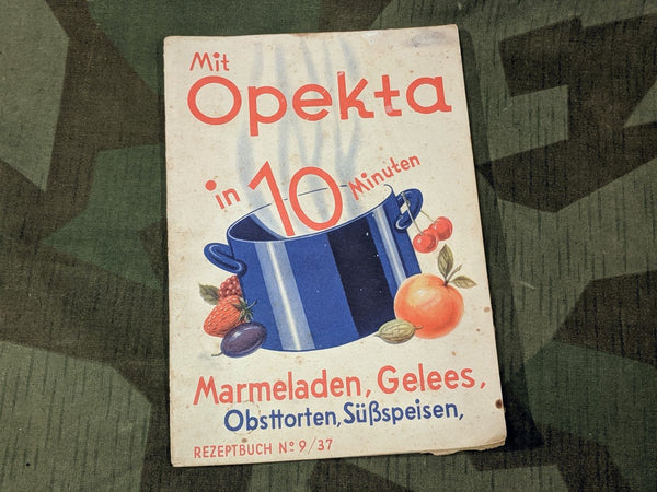 Pre-WWII 1930s German Opetka Dessert Recipes in 10 Minutes