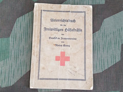 Pre-WWII DRK German Red Cross Course Book for Female Personnel 1932