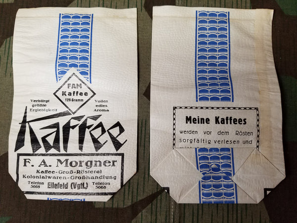 Pre-WWII German FAM Kaffee Coffee Bags