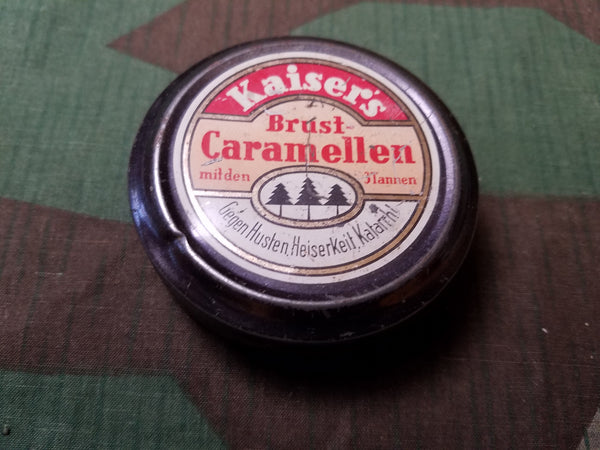 Pre-WWII German Kaisers Brust Caramellen Cough Drop Tin