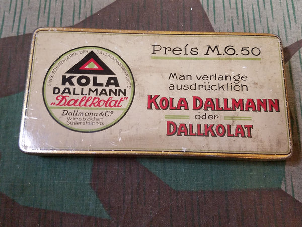 Pre-WWII German Kola Dallmann Energy Supplement Container