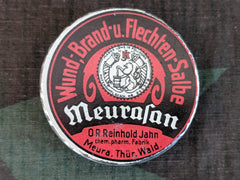 Pre-WWII German Meurasan Wound Burn Salbe Ointment