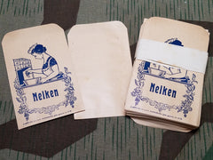 Pre-WWII German Nelken Cloves Spice Envelopes (Set of 3)