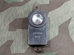 Pre-WWII German Pertrix No. 677 Flashlight Red / Green Lens
