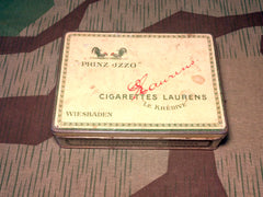 Pre-WWII German Prinz Jzzo 100 Cigarette Tin