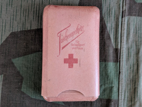 Pre-WWII German Taschenapotheke First Aid Kit