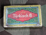 Pre-WWII German Türkisch 8 Cigarette Tin