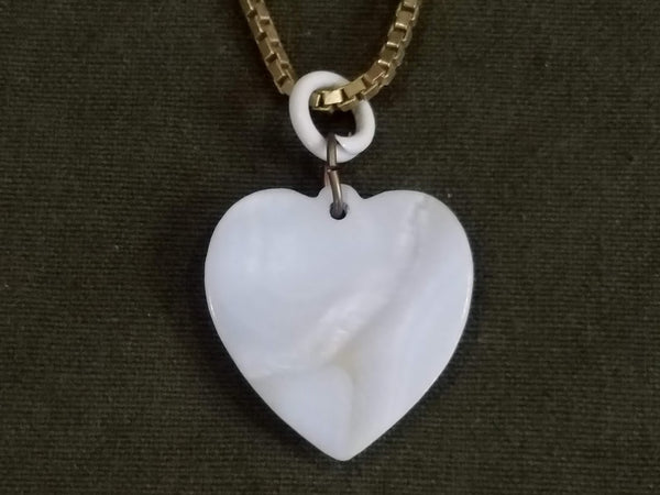 Army Air Corps Heart Necklace