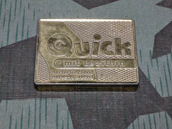 Quick Energy Tablets Tin