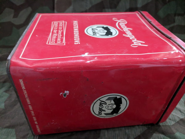 Original Large Aeska Hustenbonbon Cough Drop Tin