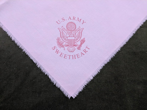 Repro WWII US Army Sweetheart Hankie