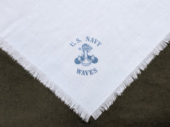 Repro Navy WAVES Hankie