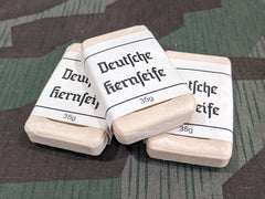 Reproduction WWII German Small Travel Soap with Label