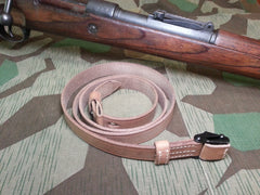 Reproduction WWII German K98 Rifle Sling Leather