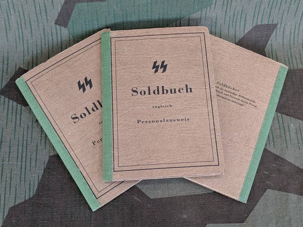 Reproduction WWII German SS Soldbuch High Quality