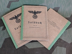 Reproduction WWII German Wehrmacht Soldbuch High Quality