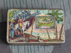 Pre-WWII German Nestor Queen Cigarette Tin