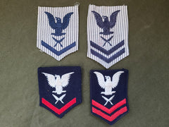 Set of 4 WAVES Yeoman Patches