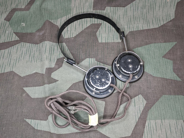 Siemens Vintage WWII German Headphones WORKING