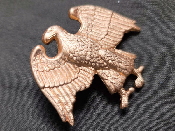 Repro WAAC Walking Eagle Officer's Hat Badge