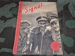 WWII July 1942 Signal Magazine in French