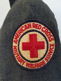 "Red Cross Military Welfare Service Uniform Named <br> (B-38 W-26.5"" H-37"")"
